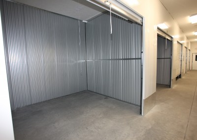 An example of one of our many indoor temperature controlled self storage units.